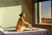 Edward Hopper: Morning Sun, 1952. © Columbus Museum of Art, Ohio.